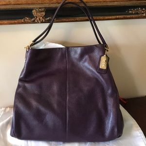 Coach Madison Leather Phoebe Shoulder Bag